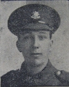Private Bonner - killed in action 1917