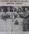 Victory Effort by Quorn British Legion - 1945