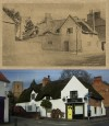 Thatched Cottage, Station Road – 1904 and 2011