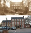 Quorn Place/ the Bull's Head/ the Quorndon Fox - then and now