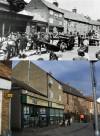 Station Road shops - then and now