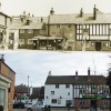 Station Road and the White Horse – then and now