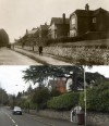 Chaveney Road – then and now, 1919 and 2011