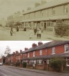 Barrow Road, Kirbell Cottages – then and now