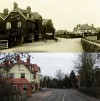 The Manor House Pub, Woodhouse Road – then and now