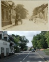 Quorn High Street - then and now