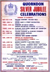 Quorn Silver Jubilee Celebrations Poster 1977
