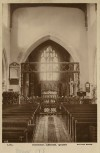 St Bartholomew's Church, interior view prior to 1913