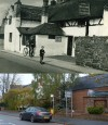 Leicester Road, King William IVth/Quorn Country Hotel - then and now