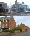 Leicester Road - then and now