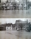Floods on Station Road, early 1970s