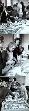 Jubilee celebrations 1977 - preparing the refreshments