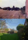 Loughborough Road looking towards Springfield Lake - then and now
