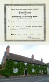 House re-numbering certificate – Meeting Street