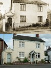 Verandah Cottage, Quorn - then and now