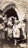 The marriage of Muriel White and William Sheffield, Quorn, 8th September 1921