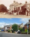 Loughborough Road, Quorn - then and now