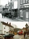 The White Horse, Quorn – A surprise visitor in March 1982!