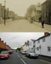 Barrow Road, Quorn – then and now