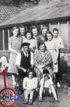 George and Olive Gartshore and their family – early 1940s