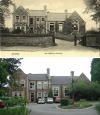 Rawlins School - then and now c1910 and 2009