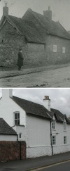School Lane - then and now