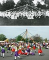 Maypole Dancing - then and now
