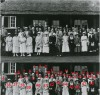 The Quorn Glee Club outside the Bowls Club 1922