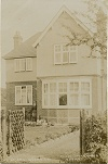 Postcard of house in Woodhouse Road, Quorn