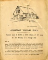 Original Village Hall poster
