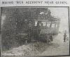 Motor Bus Accident near Quorn 1918