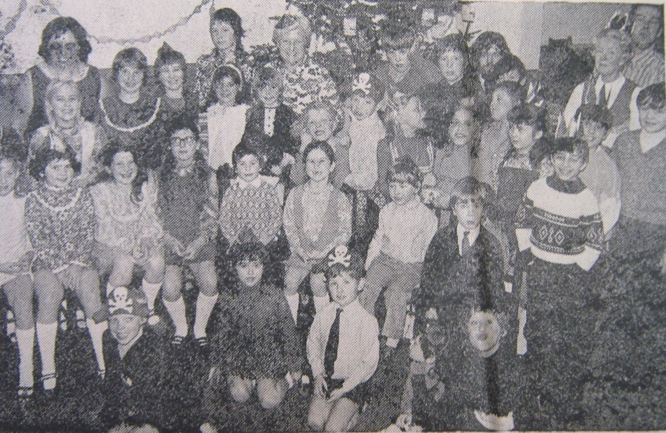 Wright's Christmas Party - 1972