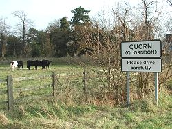 Quorndon to Quorn - the name change