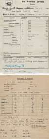 Quorn School reports, 1918 and 1949