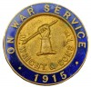 WW1, Wrights factory 'War Service' lapel badge
