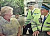 Civilian Bobbies on the beat in Quorn