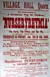 Quorn Village Hall – 'Nurseryrhymia' Christmas Show 1908