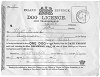 Quorn Dog Licence 1882